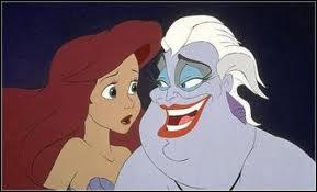 Comment disparait la méchante Ursula dans ' La petite sirène ' ?