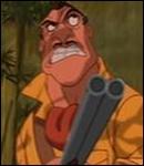 Comment disparait le méchant Clayton dans ' Tarzan ' ?
