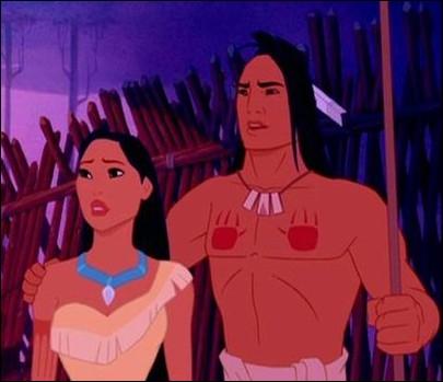 Comment Kocoum, le guerrier  fiancé  à Pocahontas , meurt-il dans le film ?