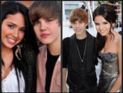 Avec qui Justin est-il sorti après avoir eu un coup de foudre sur le tournage du clip  Baby  ?