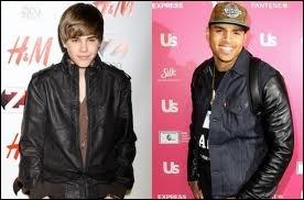 Quel célèbre chanteur de R&B a participé à des enregistrements avec Justin ?