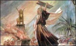 Lorsqu'il descend du mont Sinaï, Moïse découvre que les Hébreux idôlatrent une nouvelle divinité. Quelle est-elle ?