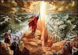 Quelle mer Moïse permit-il à son peuple de traverser à sec en  écartant les eaux  ?