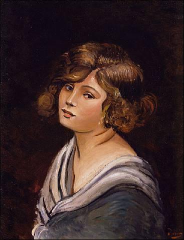 Qui a peint Portrait de jeune femme ?