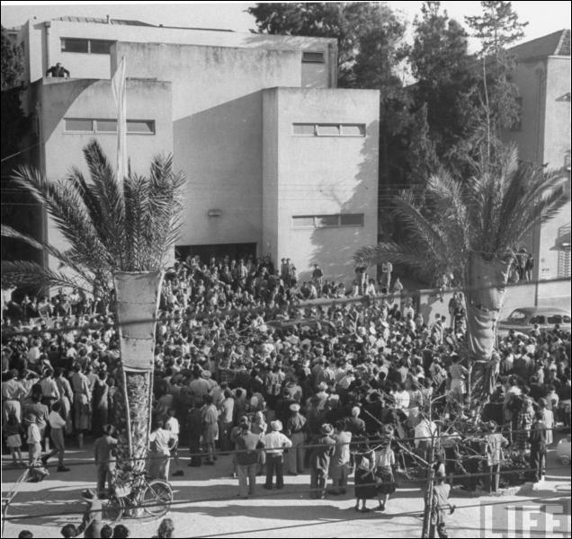 Que s'est-il passé le 14 mai 1948 ?