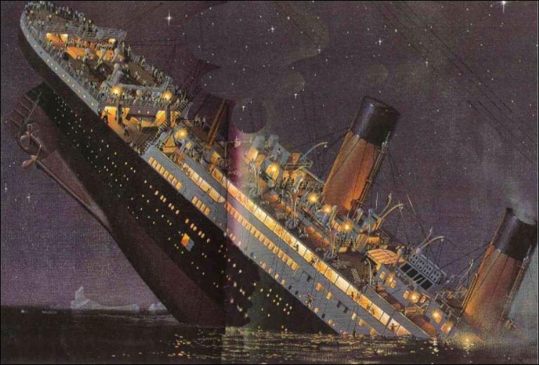 Que s'est-il passé le 15 avril 1912 ?