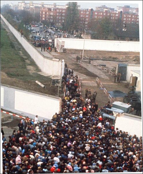 Que s'est-il passé le 9 novembre 1989 ?
