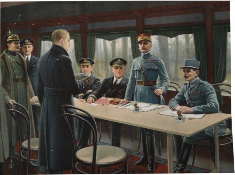 Que s'est-il passé le 11 novembre 1918 ?