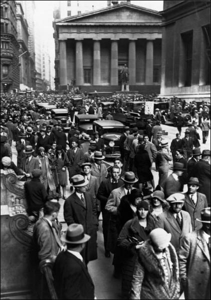 Que s'est-il passé le 24 octobre 1929 ?