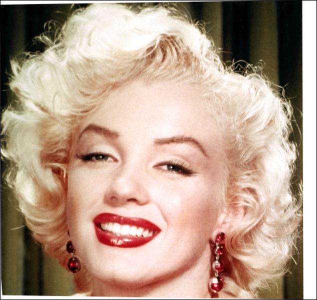 Actrice américaine (1926 - 1962), c'est :
