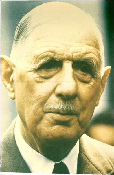 Premier président de la Cinquième République (1890 - 1970), c'est :