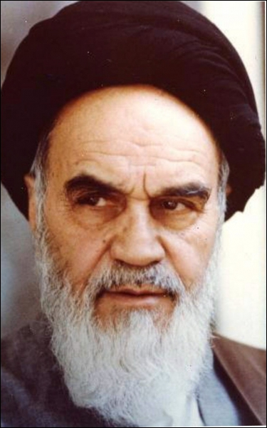 Chef religieux iranien (1901 - 1989), c'est :
