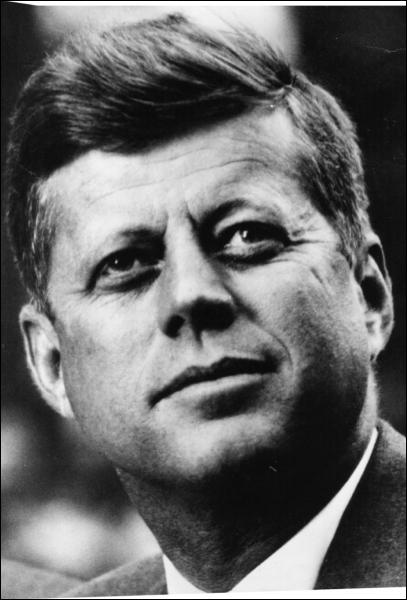 Président américain (1917 - 1963), c'est :