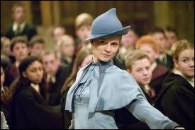Qui des Weasley supporte-t-elle le moins ?