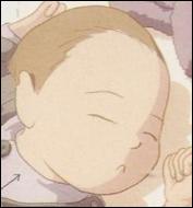 Il est le père biologique du petit frère de Lou qui apparait dans le tome 5 . Quel est le nom du bébé ?