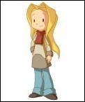 Comment s'appelle la jeune fille qui est le personnage principal de la série télévisée et de la BD  Lou  ?