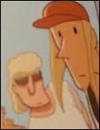 Quels sont les noms des 2 autres amis, fans du roman de la mère de Lou ?