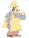 Comment s'appelle le restaurateur qui cuisine dans le local au bas de l'immeuble ?