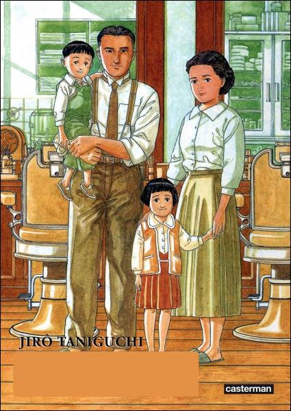 Quel manga de Taniguchi s'inspire le plus de la vie de l'auteur ?