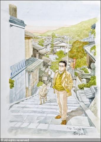 Quelle est la particularité du manga 'L'homme qui marche' ?