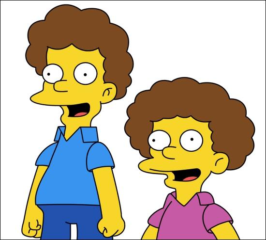 Les enfants de Maude et Ned Flanders s'appellent ...