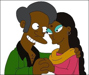 Qui est la femme de Apu ?