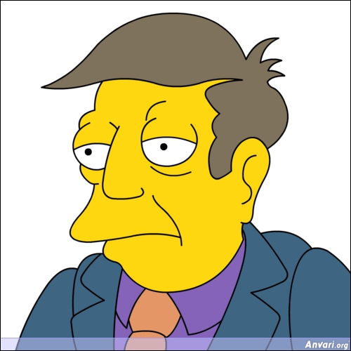 Comment se nomme le principal de l'école de Bart ?