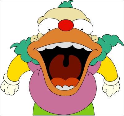 Quel est le nom complet du clown Krusty, pas très marrant.