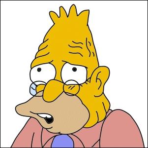 Vrai ou faux ? : Abraham est le père râleur de Homer.