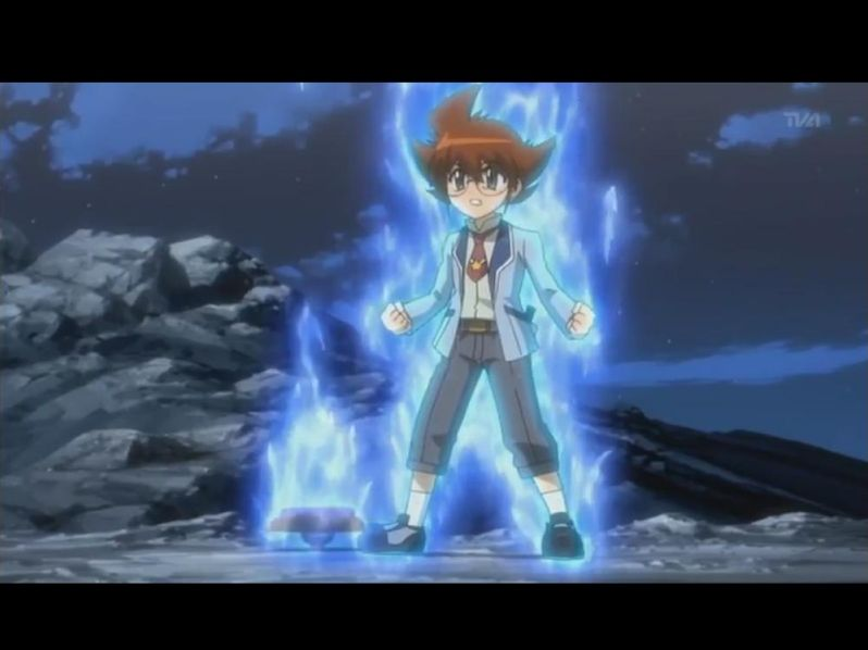 Beyblade metal fight 4D/fury (personnages)