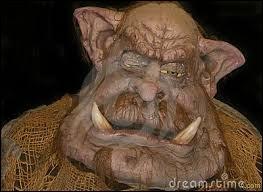 Si un troll ou un ogre s'occupe de vous, après, vous ressemblerez à autre chose ! Un peu comme le mot Halloween qui est la contraction de...