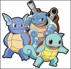 Lequel de ces Pokémon ne fait pas partie de la même famille ?