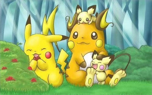 Le jeu des intrus : Pokémon