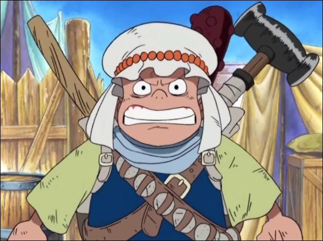 Jeune garçon vivant à Alabasta, il voulait rejoindre la rébellion. Qui est-il ?