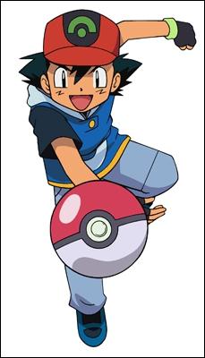 Il rêve de devenir un puissant maître Pokémon :