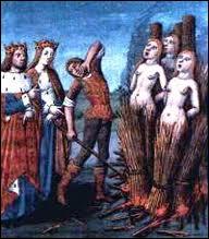Qui est cette femme, brûlée vive pour sorcellerie en 1577, pour avoir tué son enfant pour le Diable ?
