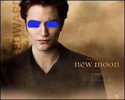 De quelle couleur sont les yeux d'Edward lorsqu'il est en colère et qu'il a soif ?