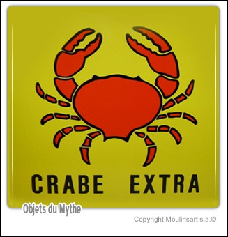 Le Crabe aux Pinces d'Or.