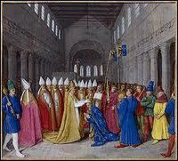 Pape, j'ai couronné Charlemagne empereur d'Occident en 800, je suis