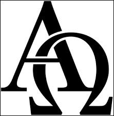 Et pour terminer ce quiz, ces lettres sont dans la religion chrétienne symboles de l'éternité de Dieu, au commencement et à la fin...