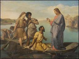Quel miracle Jésus accomplit-il sur la barque de Simon ?