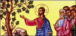 Quel arbre fruitier Jésus a-t-il rendu stérile et desséché en prononçant les paroles suivantes :  Que jamais fruit ne naisse de toi  ?