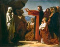 Jésus s'est rendu dans le village de Béthanie pour ressusciter un homme mort de maladie depuis plusieurs jours. Comment s'appelait-il ?