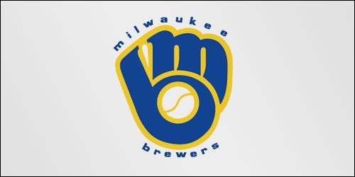 Voici le logo de Milwaukee Brewers qui, à première vue, représente un gant de baseball. Mais si vous regardez de plus près...