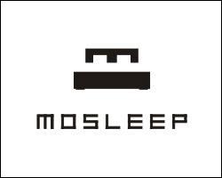Pour finir, regardons le logo de Mosleep. Il représente un M au-dessus d'une bande noire, mais essayez de trouver la véritable utilité de cette bande noire...
