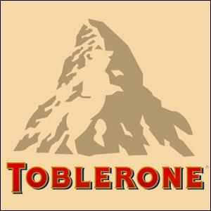 Ceci est le logo du chocolat Toblerone. A première vue, ce logo ne représente qu'une simple montagne mais en y regardant de plus près, on y découvre...