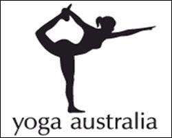 Cette fois-ci, c'est le logo de Yoga Australia qui présente un double sens. Ce logo représente une femme en train de faire du yoga , mais si on regarde mieux, on peut y trouver autre chose...