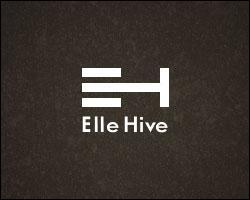 Voici maitenant le logo Elle Hive. Il représente des bandes blanches avec en dessous le nom de la marque. Concentrez-vous sur les bandes blanches. Que représentent-elles ?