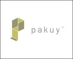 À présent, regardons le logo de Pakuy. Il représente à la fois un carton deplié et ...