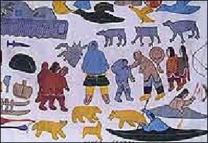 Le mot Canada vient du mot inuit :
